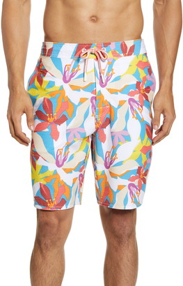 johnnie-O Coco Bay Floral Swim Trunks