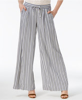 BB Dakota Maximus Striped Wide-Leg Pants