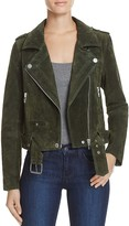 Blank NYC BLANKNYC Suede Moto Jacket - 100% Bloomingdale's Exclusive
