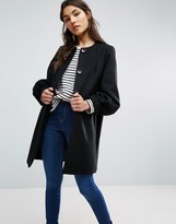 Asos Swing Coat with Bell Sleeve