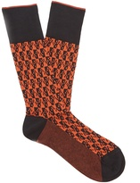 Prada Geometric cotton socks