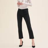 Maje Straight-cut cropped jeans