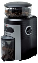 Espressione Conical Burr Coffee Grinder - Black with Silver
