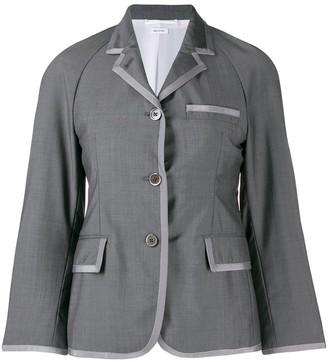 Thom Browne Raglan-Sleeve Sports Blazer