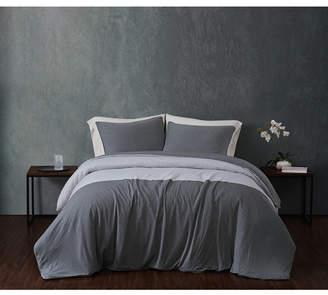 Sean John Color Block Jersey Full/Queen Duvet Set Bedding