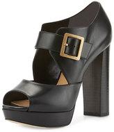 MICHAEL Michael Kors Eleni Mary Jane Platform Sandal, Black