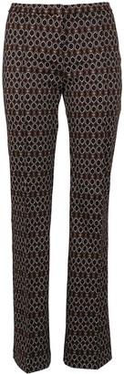 Pinko Multicolor Technical Fabric Trousers