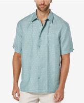 Cubavera Linen Texture Dobby Short-Sleeve Shirt