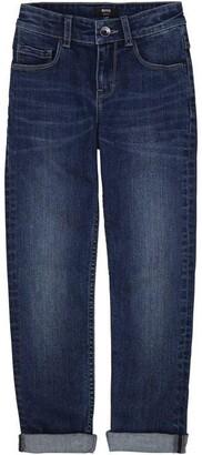 HUGO BOSS Kids Boy Blue Jeans