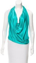 Ramy Brook Silk Halter Top