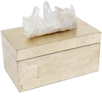 Mapleton Drive Brushed Treasure Box