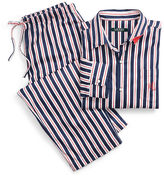 Ralph Lauren Stripe Cotton Sateen Sleep Set