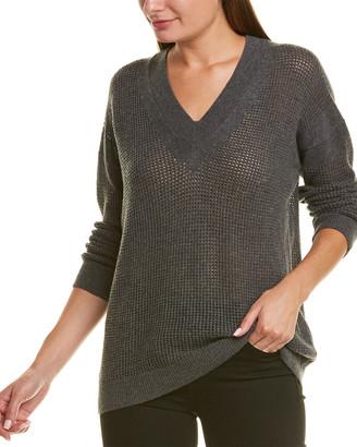 Piazza Sempione Open-Knit Wool & Cashmere-Blend Sweater