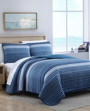 Nautica Coveside 3-Piece Quilt Set, Full/Queen Bedding