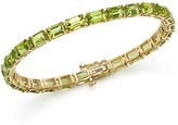 Bloomingdale's Peridot Tennis Bracelet in 14K Yellow Gold - 100% Exclusive