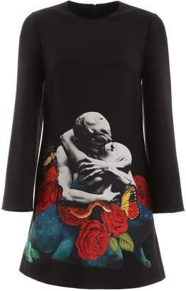 Valentino Printed Mini Dress