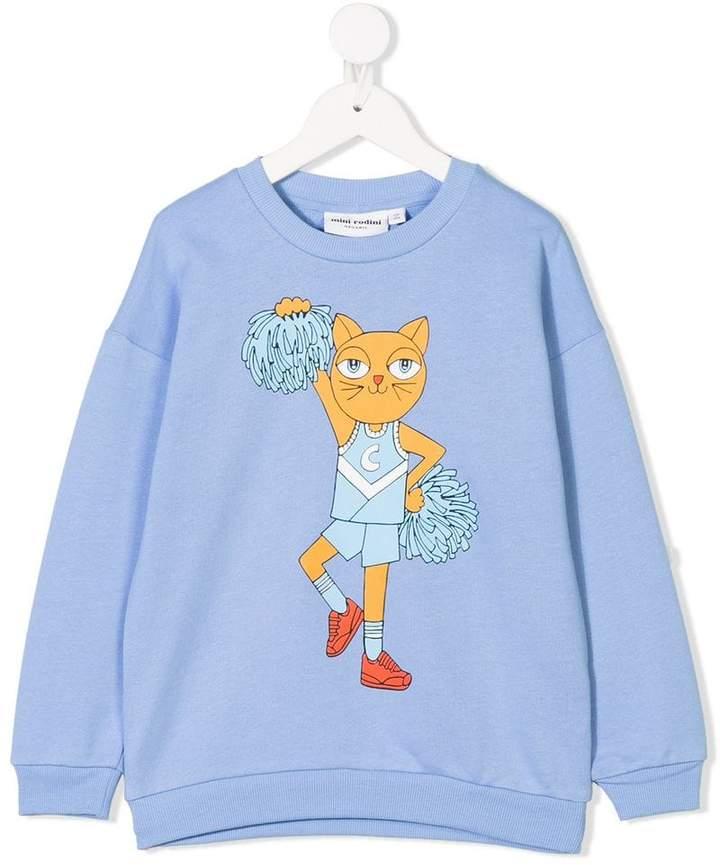 Mini Rodini Cheer Cats sweater