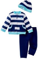 Little Me Elephant Sweatshirt Set & Hat (Baby Boys)