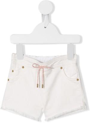 Chloé Kids Drawstring Fitted Shorts