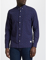 Penfield Weaver Long Sleeve Shirt, Navy
