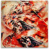 Bed Bath & Beyond Hot Jazz Paint Splatter Abstract Wall Art
