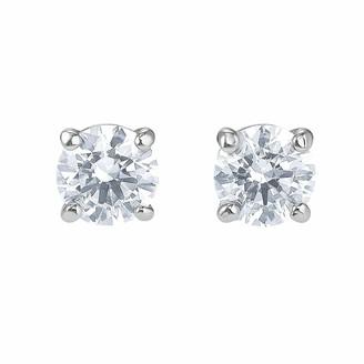 Swarovski Women Stainless Steel Stud Earrings 5509937