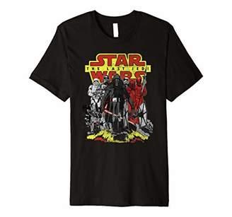 Star Wars Last Jedi Kylo Ren TIE Fighter Premium T-Shirt