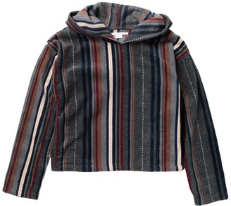 O'Neill Northwest Striped Fleece Pullover Hoodie (Little Girls & Big Girls)
