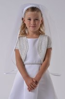 Us Angels Girl's Communion Bolero Sweater