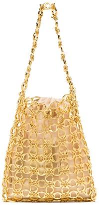 VANINA Heart of Gold chainmail mini bag