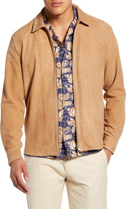 NN07 Zip Suede Shirt Jacket