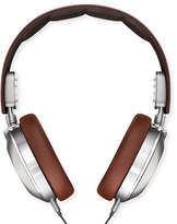 Shinola Men's Leather Over-Ear Headphones, Brown