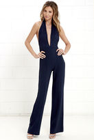 LuLu*s Keep Playing That Song Blush Pink Halter Jumpsuit