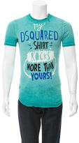 DSQUARED2 Graphic Print T-Shirt