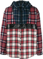 DSQUARED2 checked print hoodie