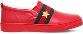 Gucci Jackson leather trainers 5-8 years