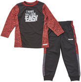 Red Heat 'I Make This Look Easy' Tee & Pants - Toddler & Boys
