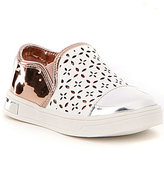 MICHAEL Michael Kors Girls' Ollie Gwen Metallic Perforated Sneakers