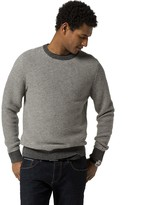 Tommy Hilfiger Wool Stripe Crewneck Sweater