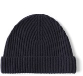 Frank & Oak Wool Beanie in Navy