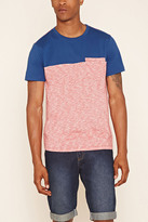 Forever 21 FOREVER 21+ Colorblock Slub Knit Tee
