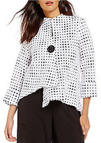 IC Collection One Button Front Jacket