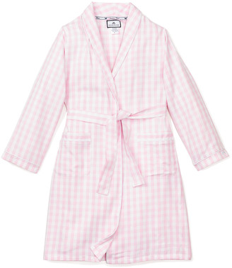 Petite Plume Gingham Robe, Size 2-14