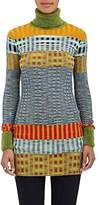 Missoni Women's Striped Wool-Blend Rib-Knit Turtleneck Sweater