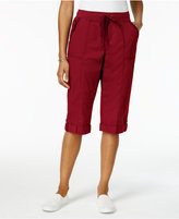 Style&Co. Style & Co Drawstring-Waist Skimmer Shorts, Created for Macy's
