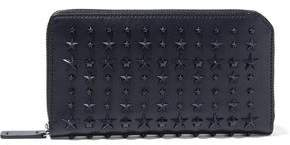 Jimmy Choo Carnaby Studded Leather Continental Wallet