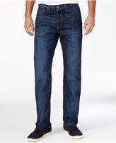 Tommy Hilfiger Men's Drake Relaxed-Fit Dark Blue Wash Jeans