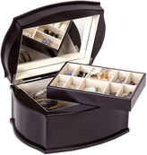 Mele Jacquelyn Java-Finish Wooden Jewelry Box