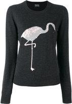 Markus Lupfer sequin flamingo sweater
