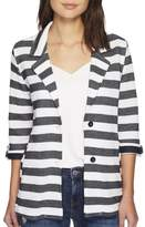 Tribal Stripe Boyfriend Jacket